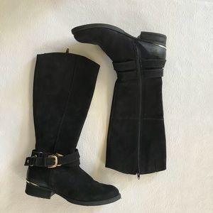 black steve madden riding boots!